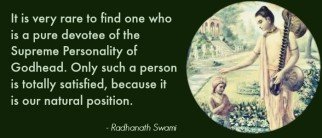 Radhanath Swami describes the Nature of Bhakti