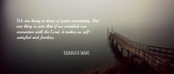 Radhanath Swami on Overcoming difficulties