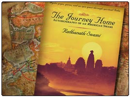 Radhanath swami's - journey home book