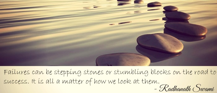 36 Failures stepping stones
