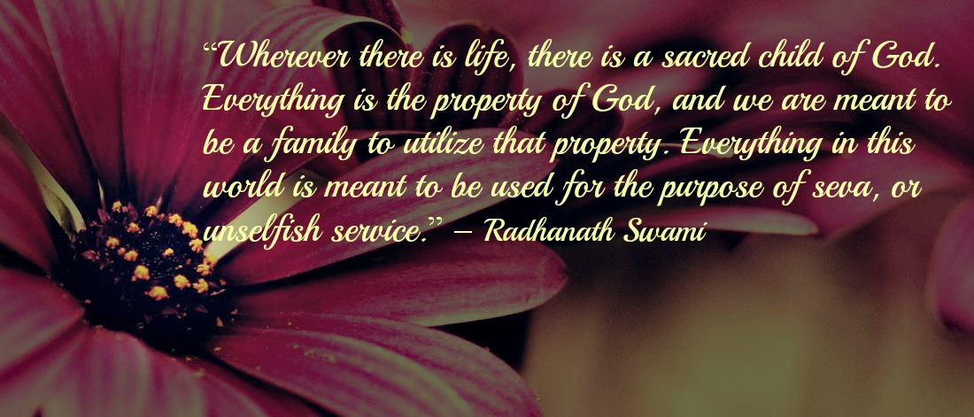 Radhanath Swami on world views