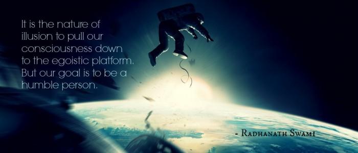 Radhanath Swami on Strength of humility