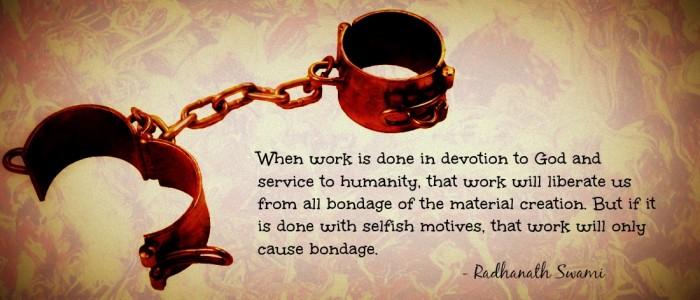 Radhanath Swami on art of work