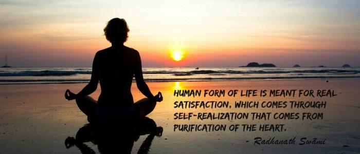 Radhanath Swami on Unfortunate condition of the world