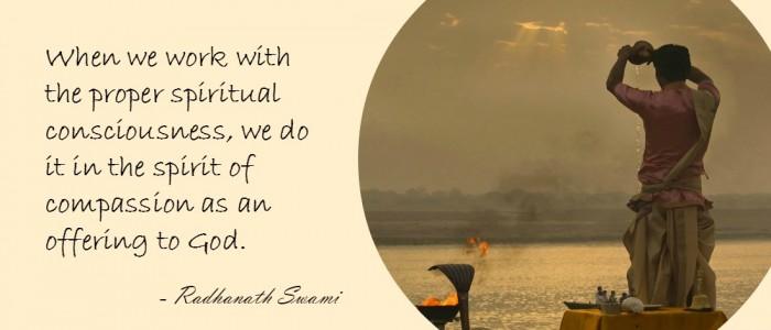 Radhanath Swami - Yoga of work