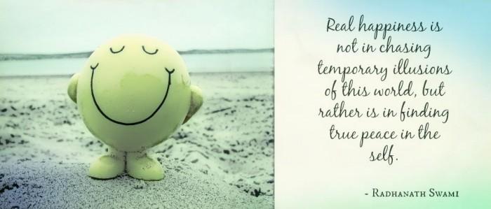 Real self happiness