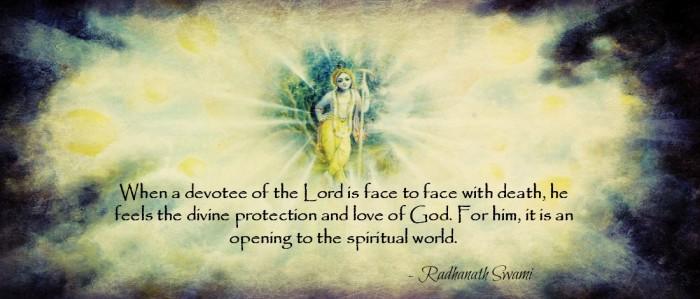Devotee no fear of death
